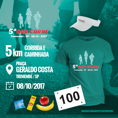 5ª OAB Corre - Tremembé - 2017