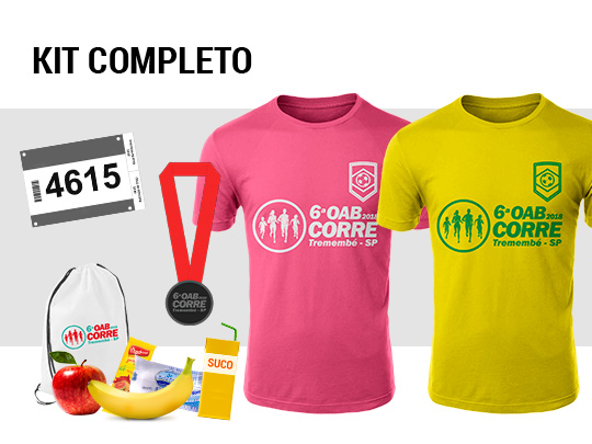 6ª OAB CORRE - Tremembé / SP - 200m 400m 2k (kids) e 5k 10k (adulto)