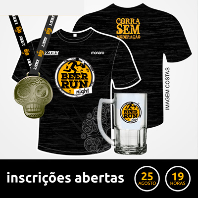 BEER RUN NIGHT 2018 – Etapa Taubaté - 5k - Taubaté / SP