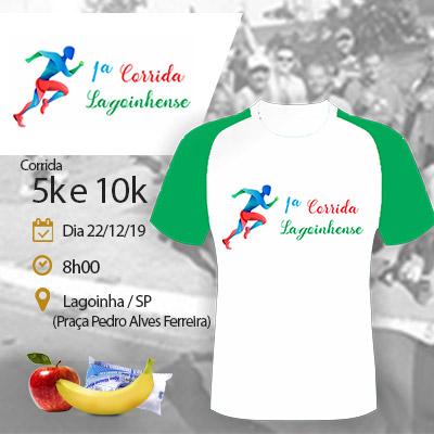 1ª corrida Lagoinhense - Lagoinha - SP - 200m 400m 2km (kids),  corrida 5km e 10km