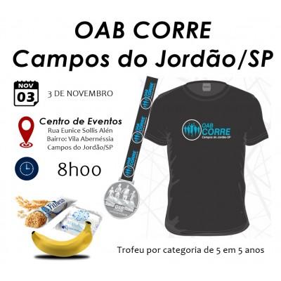 OAB CORRE - Campos do Jordão / SP - Corrida 5km e Caminhada 3km