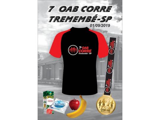 7ª OAB CORRE - Tremembé / SP - 200m 400m 2k (kids), caminhada 3k e corrida 5k