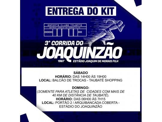 3° Corrida do Joaquinzão - 5k e 3k - Taubaté / SP