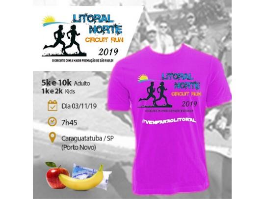 4ª Etapa - Litoral Norte Circuit Run 2019 - Caraguatatuba / SP - 1km e 2km kids   5km e 10km adulto