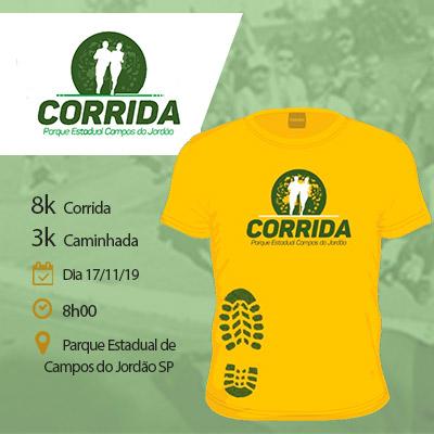 Corrida Parque Estadual de Campos do Jordão - Corrida 8K / Caminhada 3K / Kids 300m - CAMPOS DO JORDÃO - SP