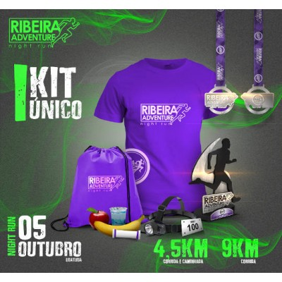 CORRIDA RIBEIRA ADVENTURE NIGHT RUN - UBATUBA / SP - 4.5K E 9K - CORRIDA E CAMINHADA