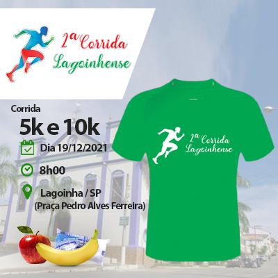 2ª corrida Lagoinhense - Lagoinha - SP - 200m 400m 2km (kids),  corrida 5km e 10km